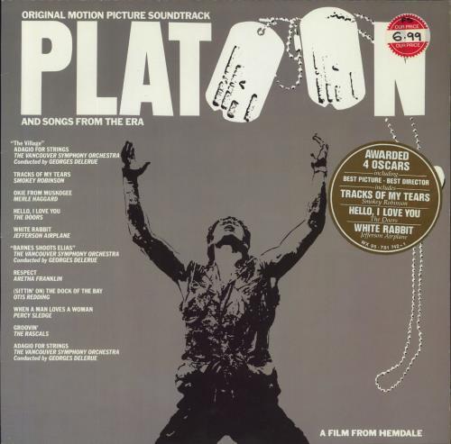 Original Soundtrack Platoon vinyl LP album (LP record) German OSTLPPL586694