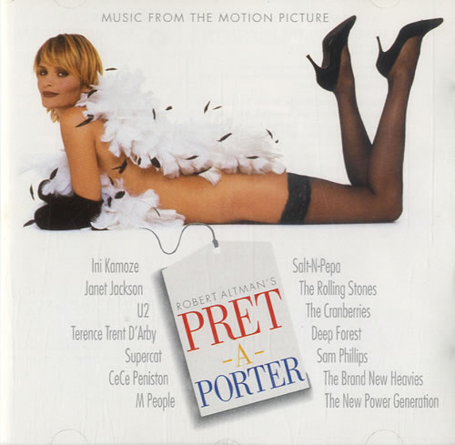 Original Soundtrack Pret A Porter Uk Promo Cd Album Cdlp