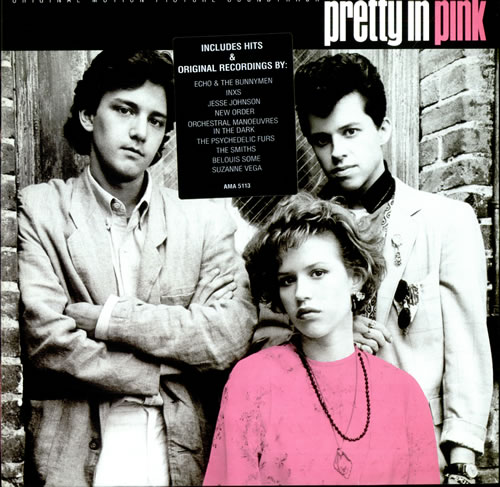 Original Soundtrack Pretty In Pink - Hype Stickered vinyl LP album (LP record) UK OSTLPPR271761