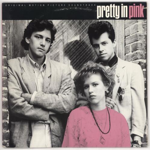 Original Soundtrack Pretty In Pink vinyl LP album (LP record) US OSTLPPR583594