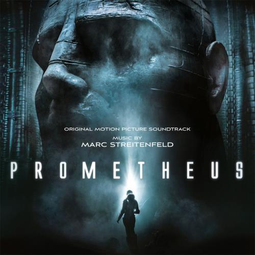 Original Soundtrack Prometheus - Blue Marbled Vinyl + Litho 2-LP vinyl record set (Double Album) UK OST2LPR767432