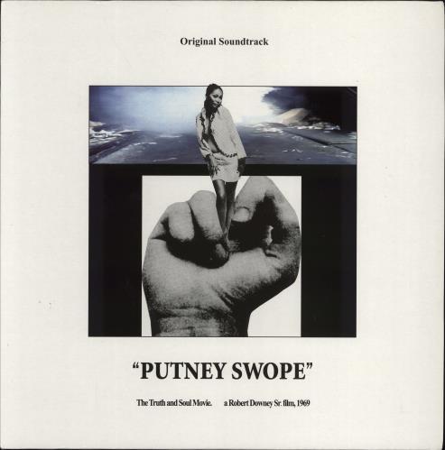 Original Soundtrack Putney Swope vinyl LP album (LP record) UK OSTLPPU770438
