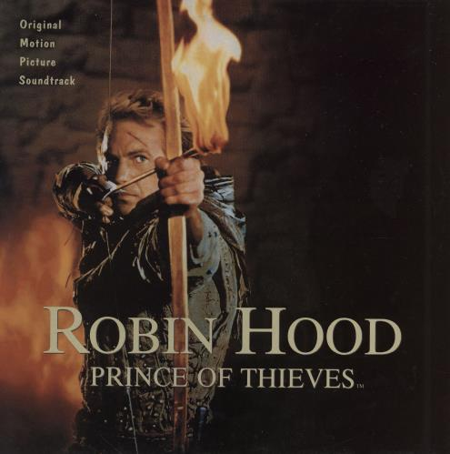 Original Soundtrack Robin Hood: Prince Of Thieves vinyl LP album (LP record) UK OSTLPRO757066