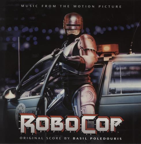 Original Soundtrack Robocop - 180gm 2-LP vinyl record set (Double Album) UK OST2LRO754549