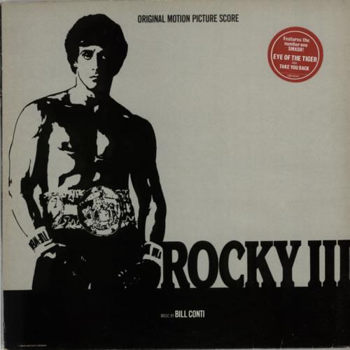Original Soundtrack Rocky III vinyl LP album (LP record) UK OSTLPRO418747