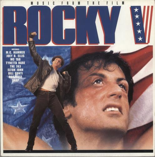 Original Soundtrack Rocky V (Music From And Inspired By The Motion Picture) vinyl LP album (LP record) UK OSTLPRO734750