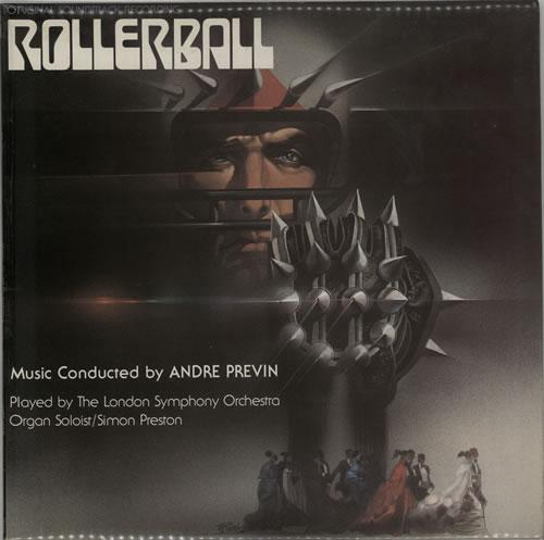 Original Soundtrack Rollerball vinyl LP album (LP record) UK OSTLPRO223471