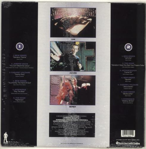 Original Soundtrack Salvation - Sealed vinyl LP album (LP record) US OSTLPSA714404