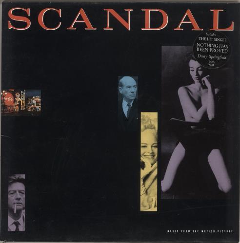 Original Soundtrack Scandal vinyl LP album (LP record) UK OSTLPSC391932