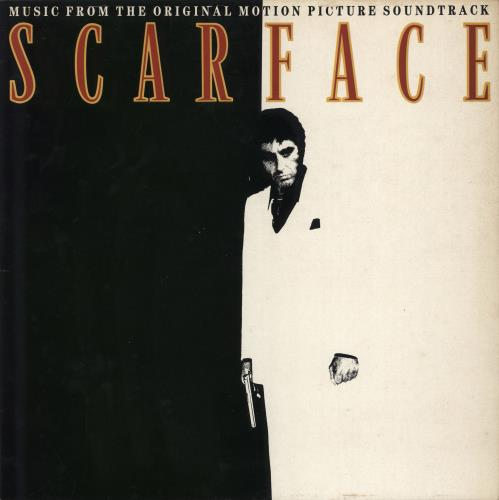 Original Soundtrack Scarface vinyl LP album (LP record) UK OSTLPSC595865