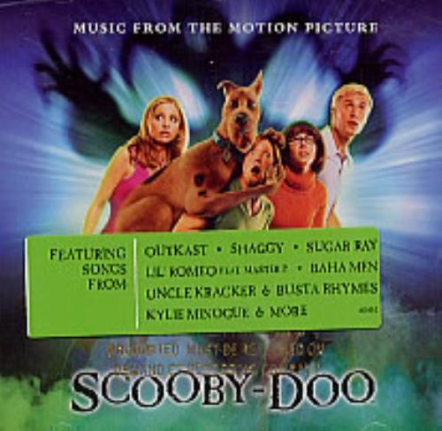 Original Soundtrack Scooby-Doo CD album (CDLP) US OSTCDSC218382