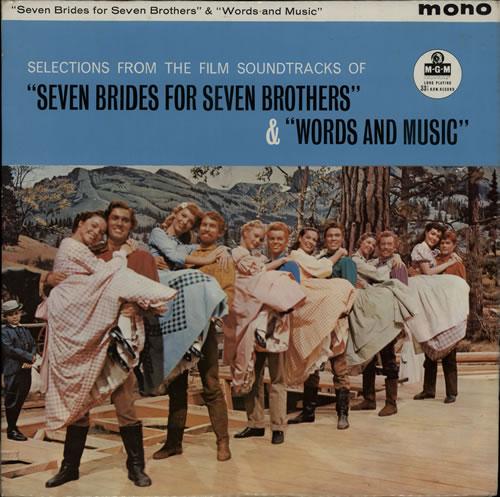 Original Soundtrack Seven Brides For Seven Brothers & Words And Music vinyl LP album (LP record) UK OSTLPSE565469