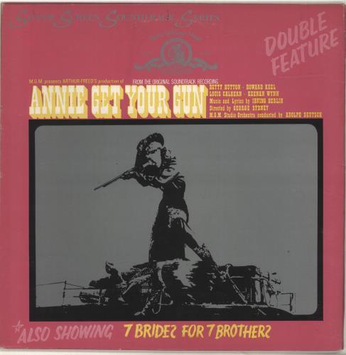 Original Soundtrack Seven Brides For Seven Brothers / Annie Get Your Gun vinyl LP album (LP record) UK OSTLPSE496739