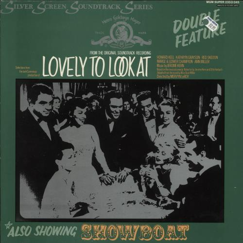 Original Soundtrack Show Boat / Lovely To Look At vinyl LP album (LP record) UK OSTLPSH745503