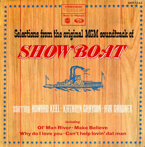 Original Soundtrack Show Boat vinyl LP album (LP record) UK OSTLPSH457059