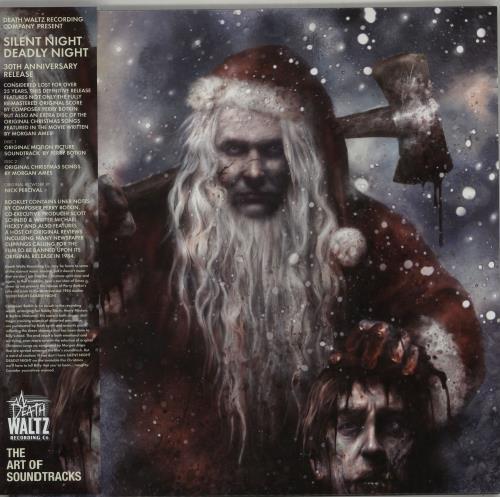 Original Soundtrack Silent Night, Deadly Night - Red/White & Red/Green Vinyl 2-LP vinyl record set (Double Album) UK OST2LSI647954