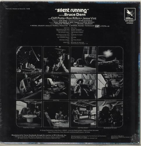 Original Soundtrack Silent Running - Sealed vinyl LP album (LP record) US OSTLPSI714403