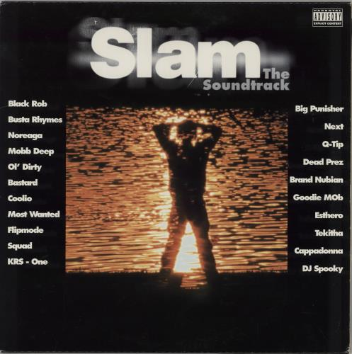 Original Soundtrack Slam - The Soundtrack 2-LP vinyl record set (Double Album) US OST2LSL754716