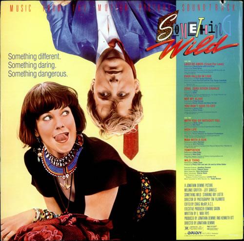 Original Soundtrack Something Wild vinyl LP album (LP record) US OSTLPSO521708