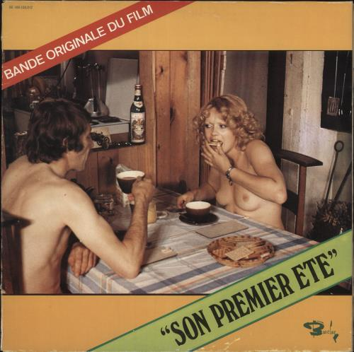 Original Soundtrack Son Premier Eté vinyl LP album (LP record) Belgian OSTLPSO734080