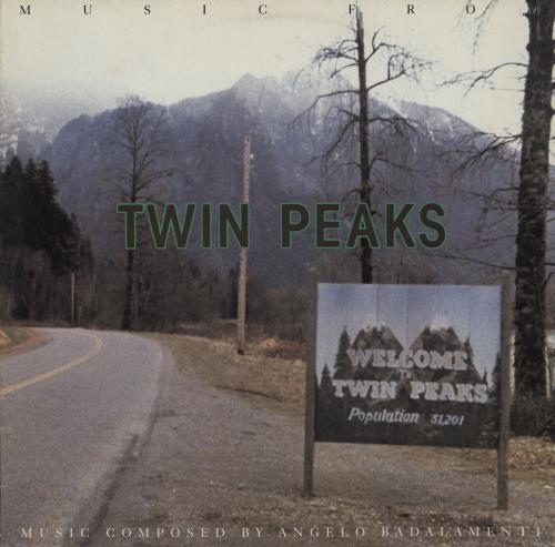 Original Soundtrack Soundtrack From Twin Peaks - VG vinyl LP album (LP record) German OSTLPSO758748