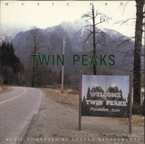 Original Soundtrack Soundtrack From Twin Peaks vinyl LP album (LP record) German OSTLPSO719242