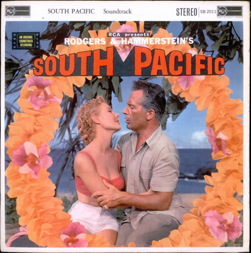 Original Soundtrack South Pacific - 2nd vinyl LP album (LP record) UK OSTLPSO516389