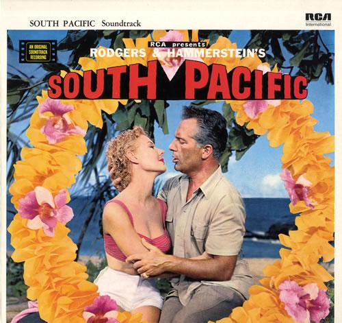 Original Soundtrack South Pacific vinyl LP album (LP record) UK OSTLPSO563412