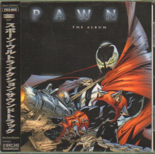 Original Soundtrack Spawn The Album CD album (CDLP) Japanese OSTCDSP642597