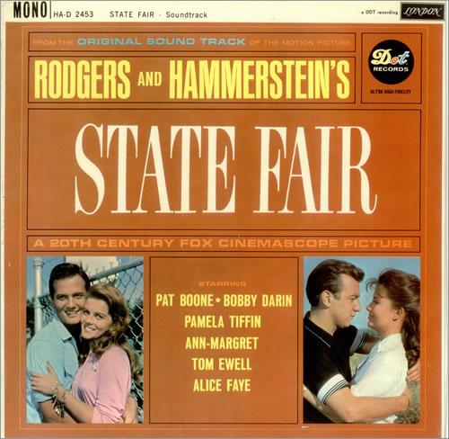 Original Soundtrack State Fair vinyl LP album (LP record) UK OSTLPST457159