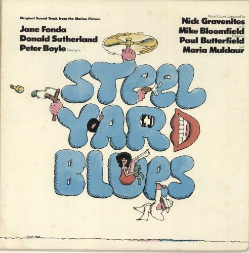 Original Soundtrack Steel Yard Blues vinyl LP album (LP record) US OSTLPST686425