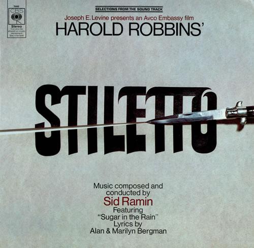 Original Soundtrack Stiletto vinyl LP album (LP record) UK OSTLPST477082