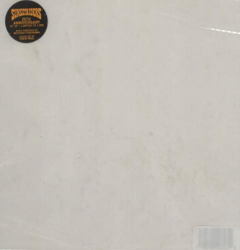 "Original Soundtrack Sunset Riders - Clear Vinyl 10"" vinyl single (10"" record) US OST10SU757657"