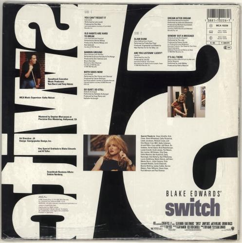 Original Soundtrack Switch vinyl LP album (LP record) German OSTLPSW714455