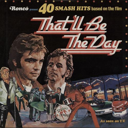 Original Soundtrack That'll Be The Day 2-LP vinyl record set (Double Album) UK OST2LTH572661