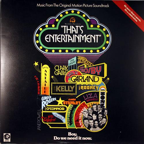 Original Soundtrack That's Entertainment 2-LP vinyl record set (Double Album) UK OST2LTH555437