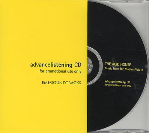 Original Soundtrack The Acid House CD album (CDLP) UK OSTCDTH394207