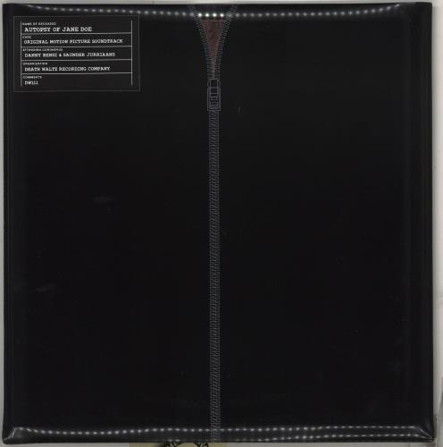Original Soundtrack The Autopsy of Jane Doe - Clear & Pink Vinyl vinyl LP album (LP record) US OSTLPTH713399