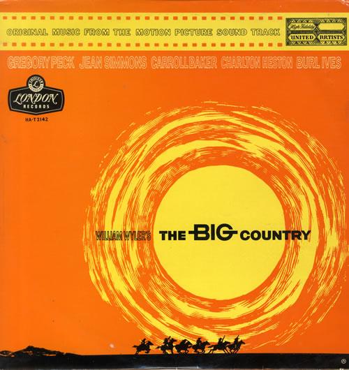 Original Soundtrack The Big Country vinyl LP album (LP record) UK OSTLPTH550293