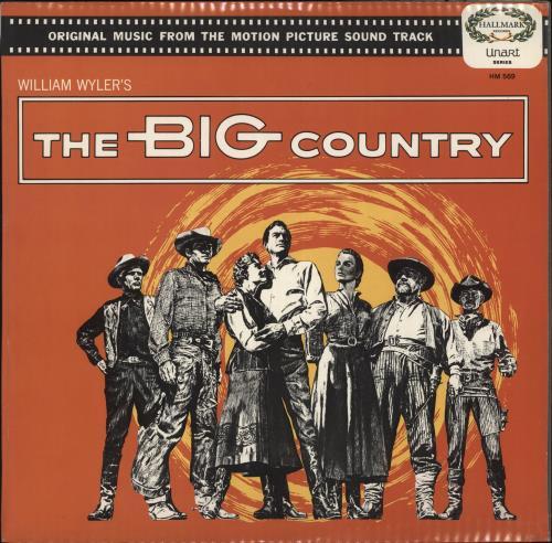 Original Soundtrack The Big Country vinyl LP album (LP record) UK OSTLPTH563666