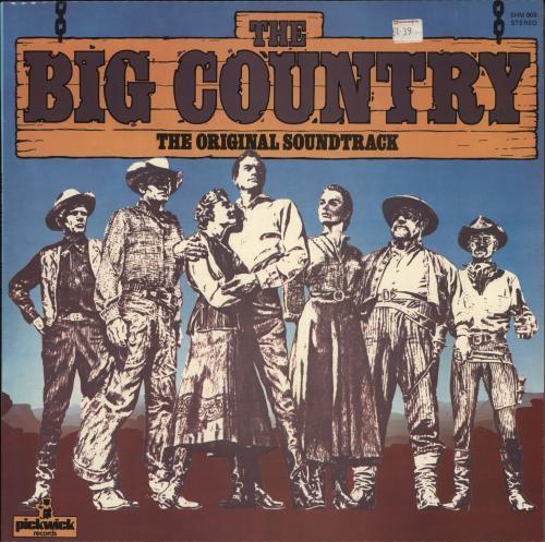 Original Soundtrack The Big Country vinyl LP album (LP record) UK OSTLPTH657927