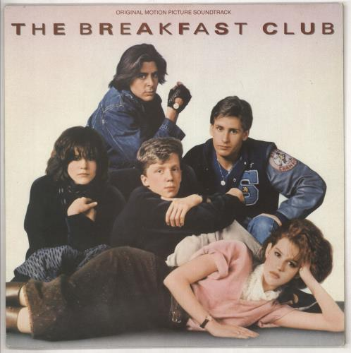 Original Soundtrack The Breakfast Club vinyl LP album (LP record) UK OSTLPTH738372
