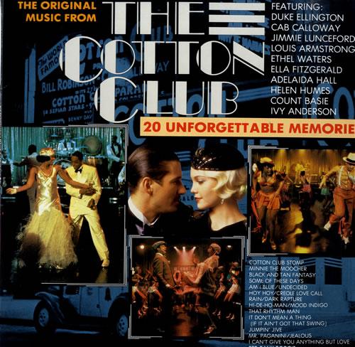 Original Soundtrack The Cotton Club vinyl LP album (LP record) German OSTLPTH560924