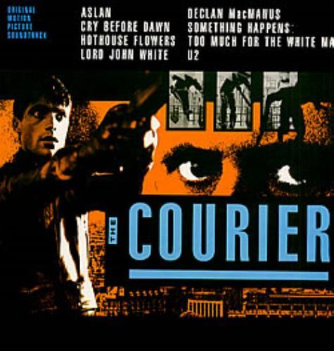 Original Soundtrack The Courier vinyl LP album (LP record) UK OSTLPTH240637