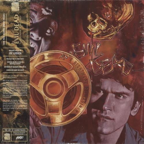 Original Soundtrack The Evil Dead: A Nightmare Reimagined - 180gram Green Vinyl - Sealed 2-LP vinyl record set (Double Album) UK OST2LTH702481