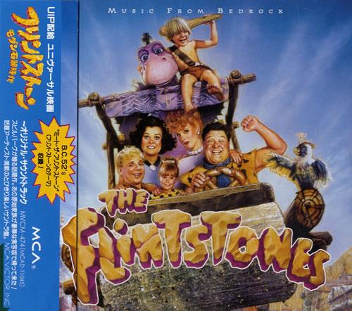 Original Soundtrack The Flintstones: Music From Bedrock CD album (CDLP) Japanese OSTCDTH556705