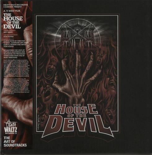 Original Soundtrack The House Of The Devil - Black Red Splatter Vinyl vinyl LP album (LP record) UK OSTLPTH647940