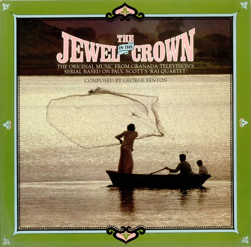 Original Soundtrack The Jewel In The Crown vinyl LP album (LP record) UK OSTLPTH439277