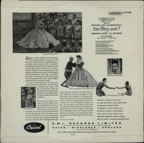 Original Soundtrack The King And I - 1st vinyl LP album (LP record) UK OSTLPTH457088