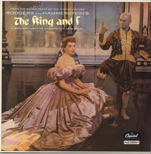 Original Soundtrack The King And I - 2nd vinyl LP album (LP record) UK OSTLPTH696035